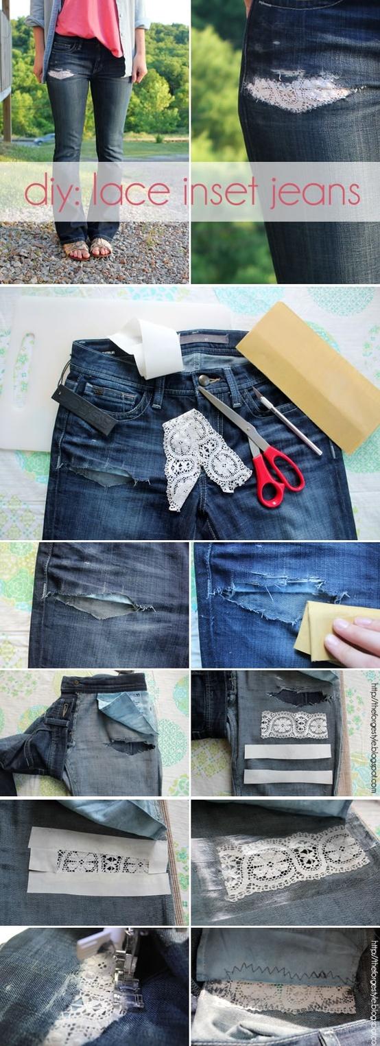 6 Maneras de Reutilizar Tus Jeans Viejos