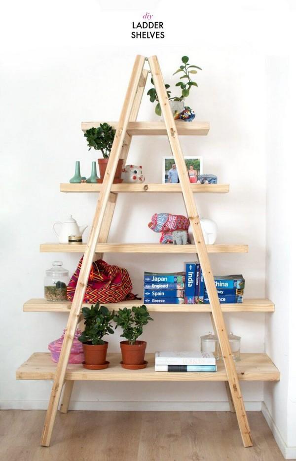 15 ideas para hacer estanter as originales y econ micas for Ideas decorativas economicas