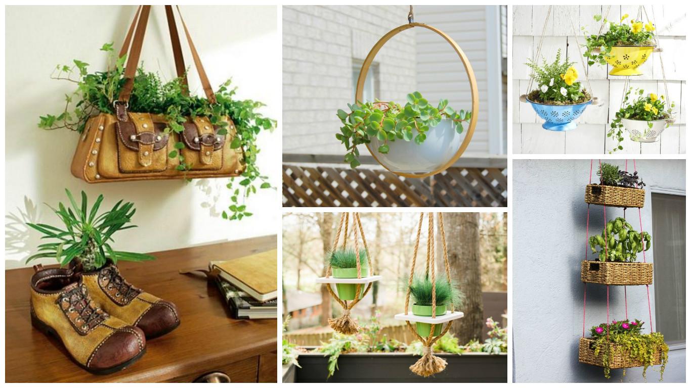 10 ideas jardineras colgantes - Ideas para jardineras ...
