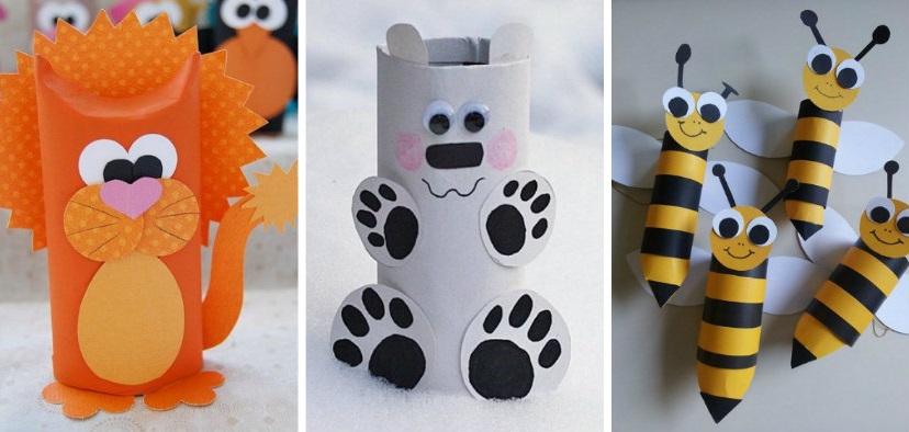 19 ideas de animales con rollos de papel higi nico On animales con rollos de papel higienico