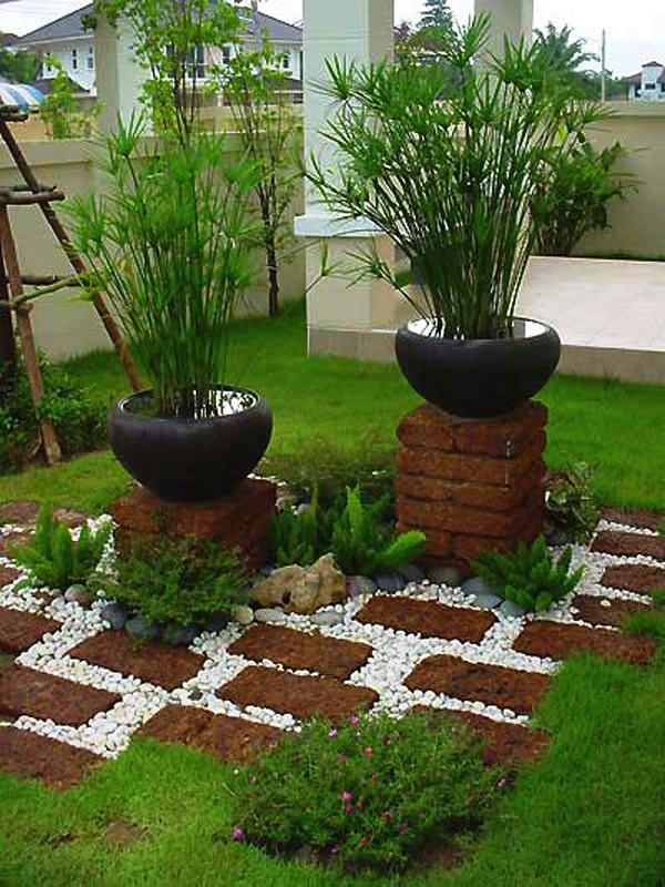 15+ Brillantes Ideas para Decorar Jardín con Ladrillos