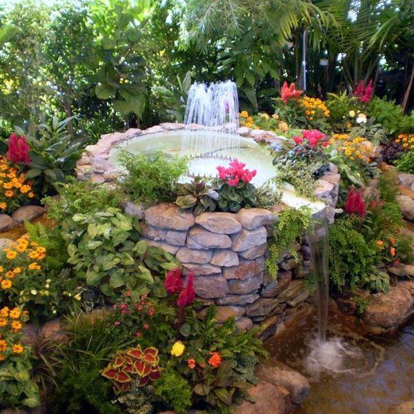 13+ Fuentes y Estanques de Agua que Parece un Auténtico Paraíso
