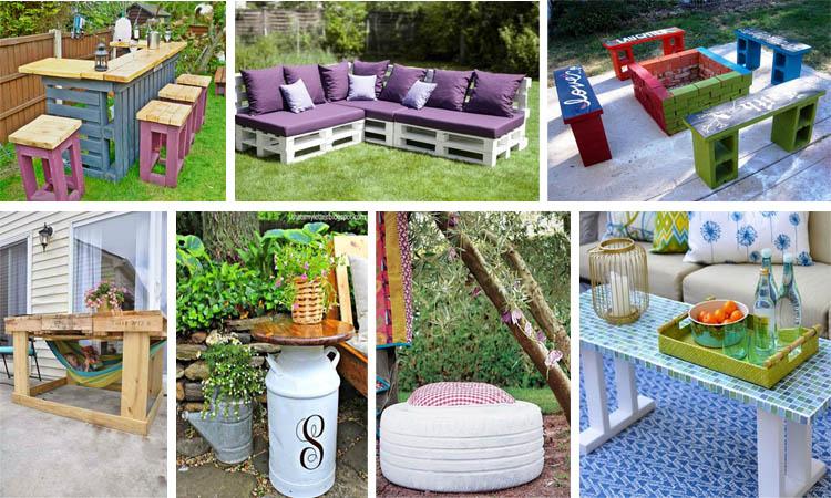 15 estupendas ideas de reciclaje y manualidades para el for Reciclaje para jardin