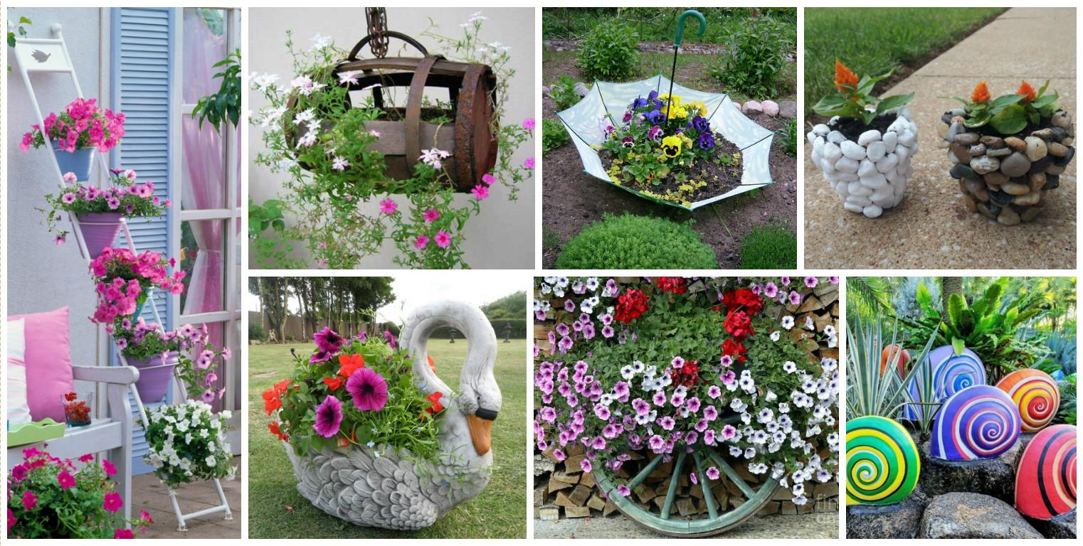 15 imponentes decoraciones para crear un jard n original for Jardin original