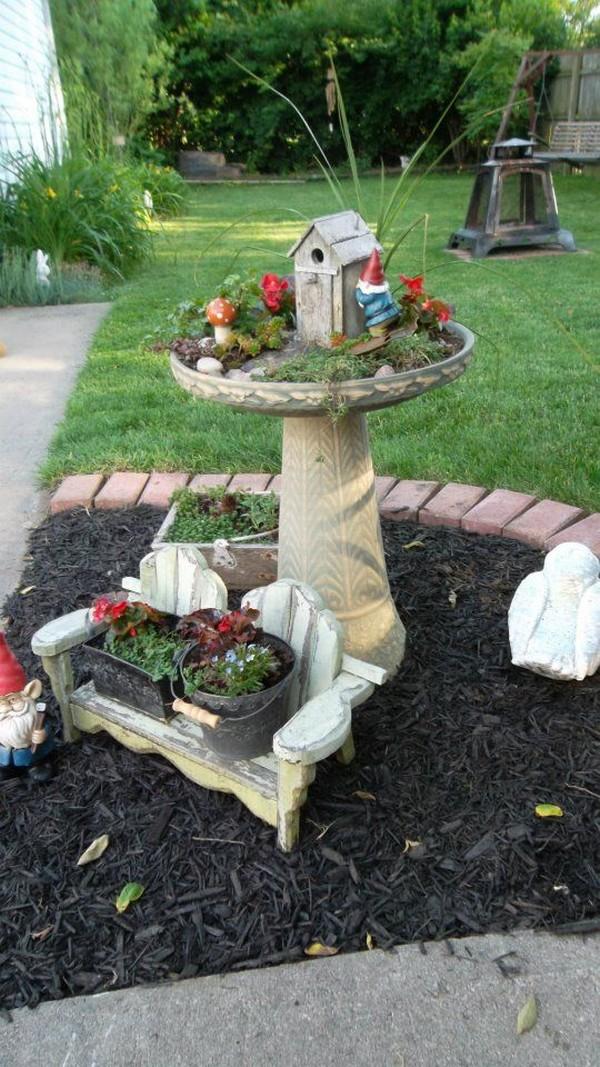 15 ideas originales para crear un jard n de hadas - Ideas para hacer un jardin ...
