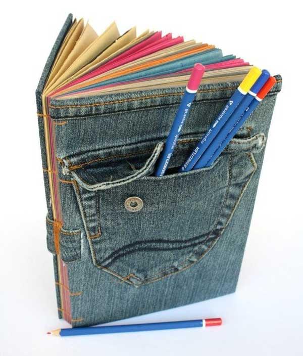 25+ Increíbles Proyectos Que Puedes Hacer con Viejos Pantalones Vaqueros