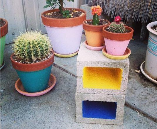 15 creativas ideas para tu jardin con bloques de cemento for Ideas para tu jardin paisajismo