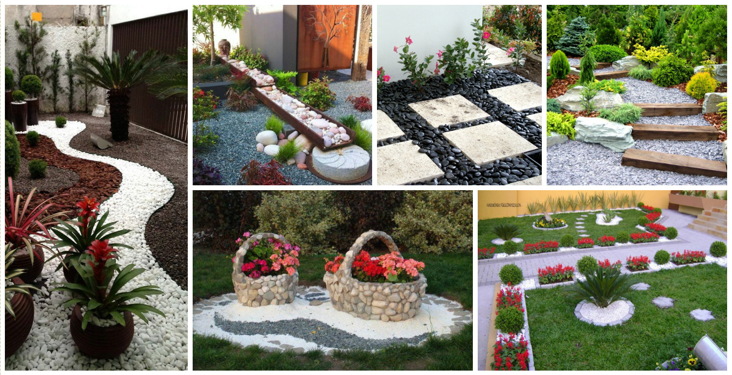 10 ideas para dise ar un jard n con piedras for Paredes de jardin decoradas