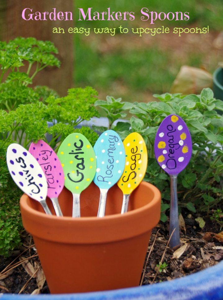20 ideas geniales para decorar jard n con art culos de cocina for Articulos jardin