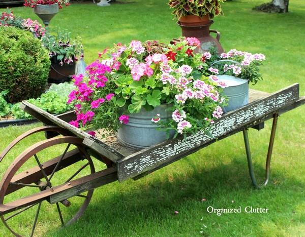 15 hermosas ideas para decorar un jardin vintage for Jardines vintage