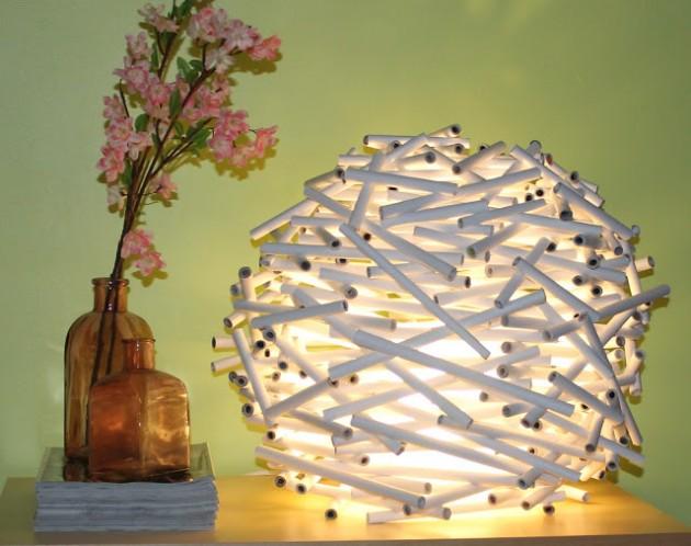 20+ Diseños Grandiosos de Lámparas Hechas con Papel