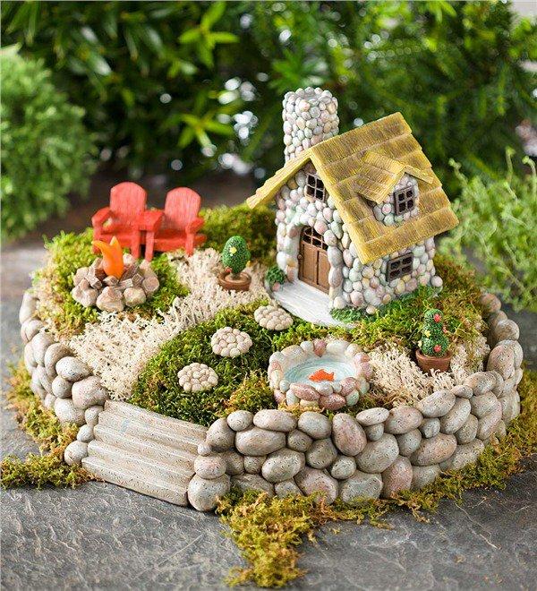 15+ Locos Proyectos para Crear Jardines de Interior en Miniatura