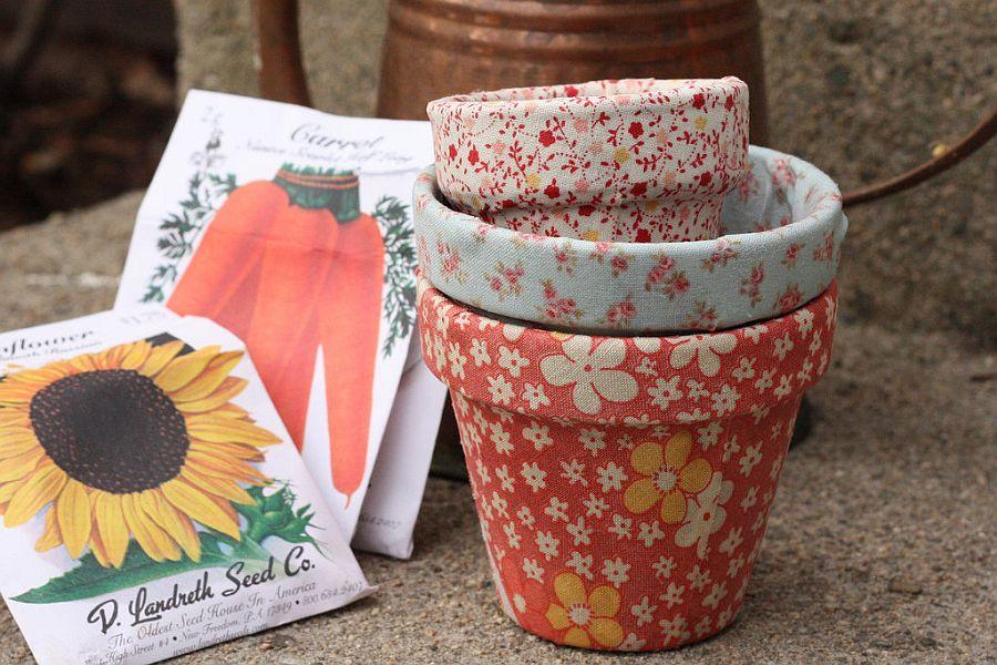 10+ Ideas Impresionantes Para Decorar Macetas de Flores