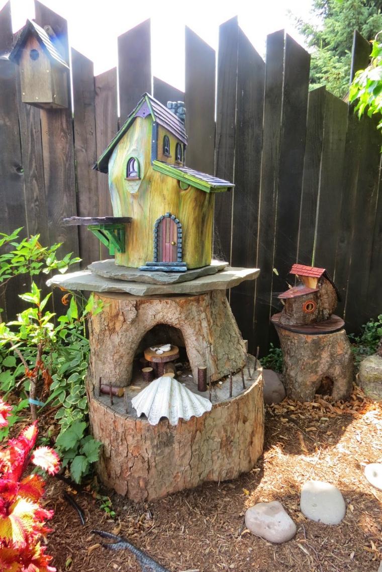 20 ideas creativas manualidades y decoraci n del jard n - Trasteros de madera para jardin ...