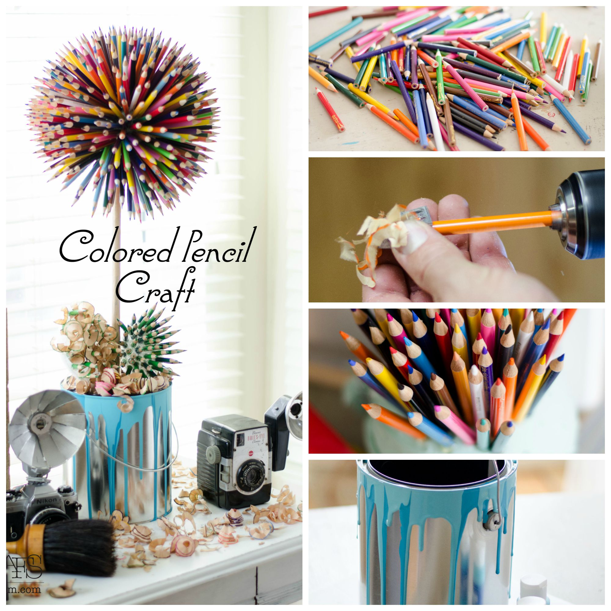 15+ Impressionantes Manualidades Reutilizando Lápices de Colores