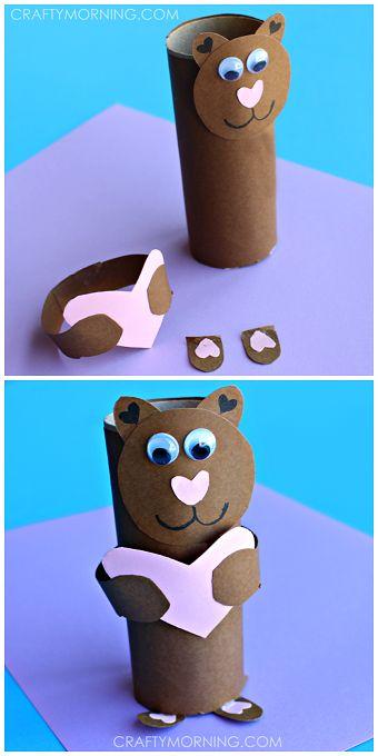 Bear Toilet Paper Roll