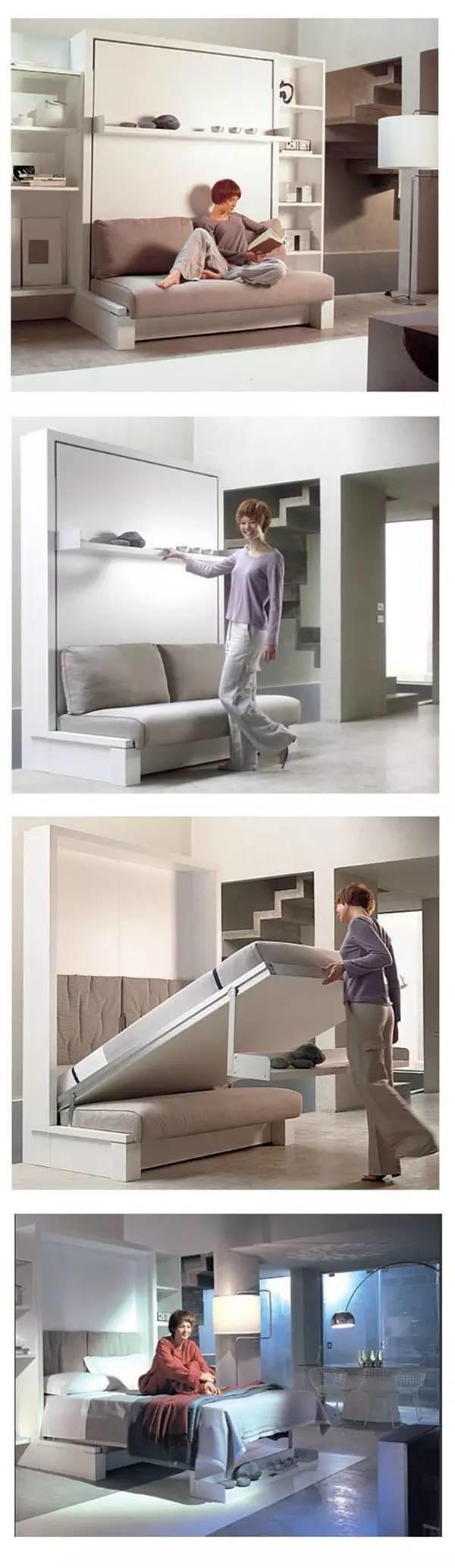 15+ Ingeniosos Muebles para Ahorrar Espacio