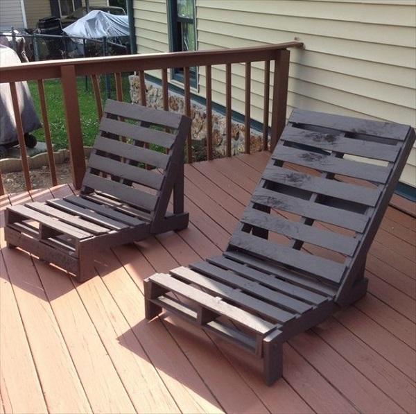 20 ideas muebles de exterior hechos con palets - Muebles exterior palets ...