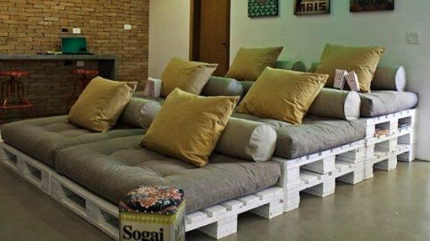 15+ Originales Muebles Hechos con Palets para Decorar tu Hogar