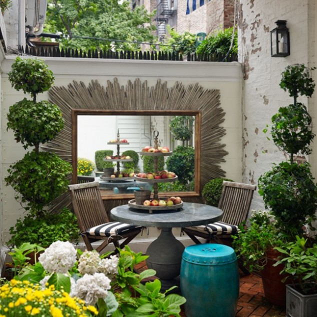 14 ideas geniales para decorar tu patio - Fotos de aticos decorados ...