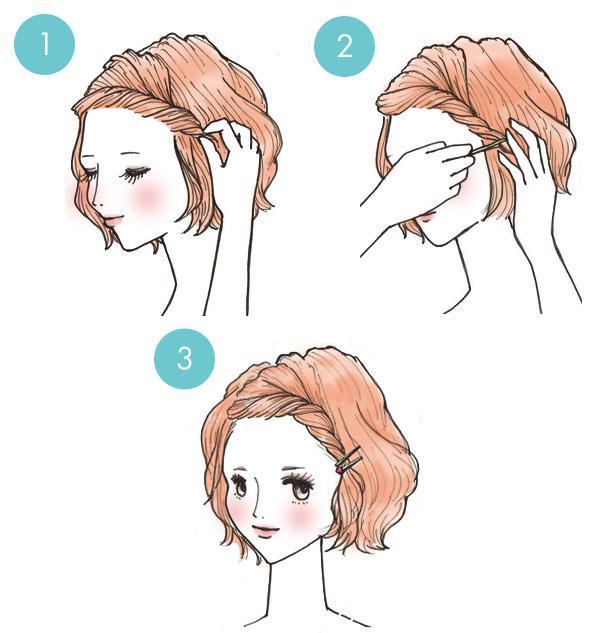 5 peinados rápidos y fácil de hacer en 3 minutos