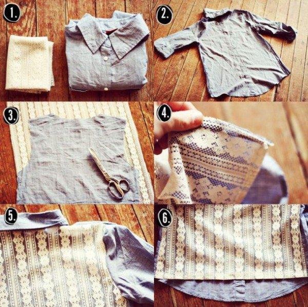 10+ Ideas Para Renovar Camisetas Viejas