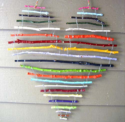 20+ Proyectos de Bricolaje Genial Usando Ramitas y Ramas