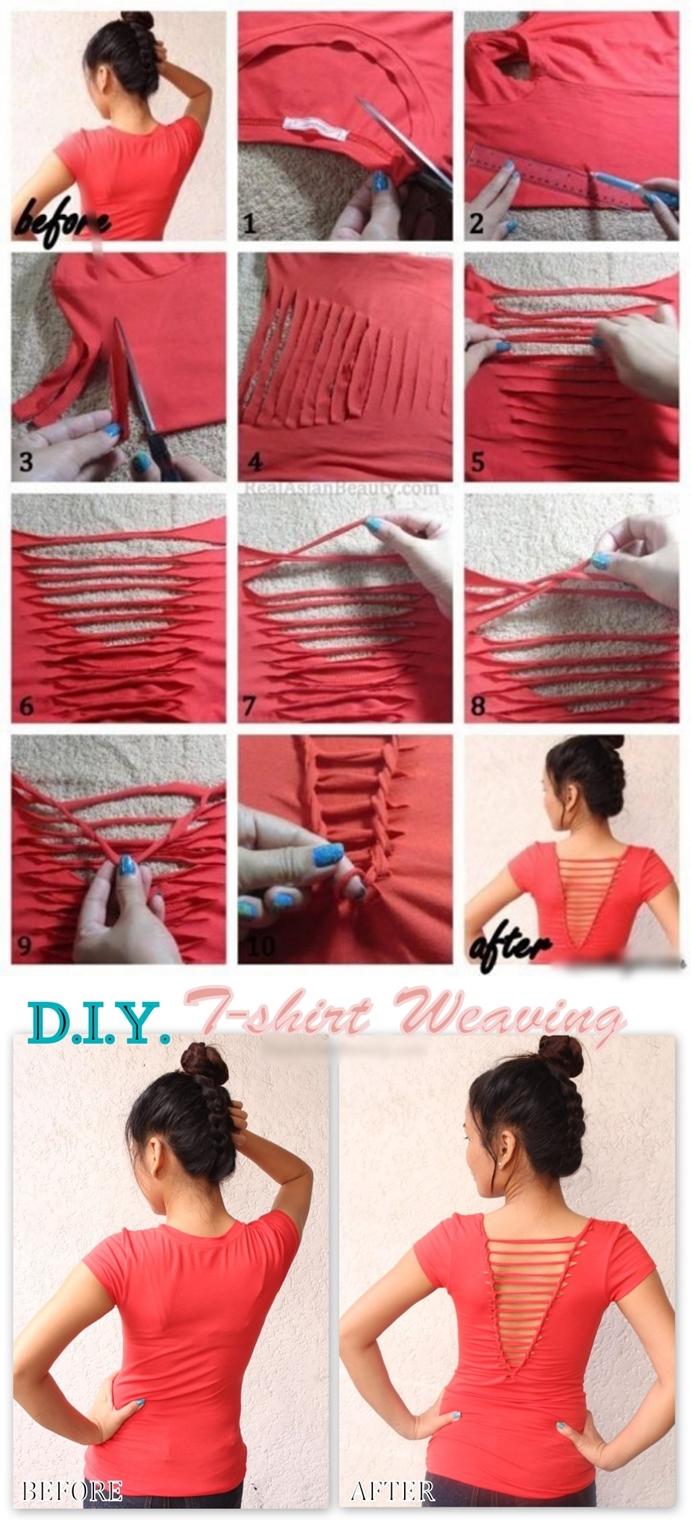 DIY Para Reciclar Una Camiseta Vieja
