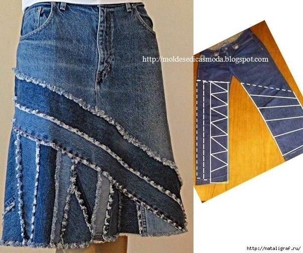 15+ Ideas con Jeans Viejos