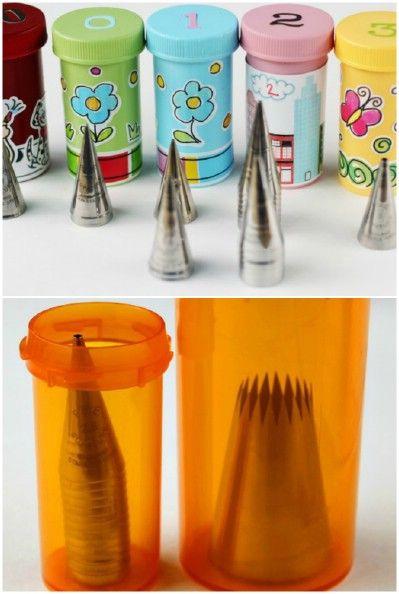 20+ DIY impresionante Usos para Botellas de Píldora