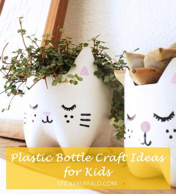 15+ Estupendas Ideas Creativas para Reciclar Botellas de Plastico