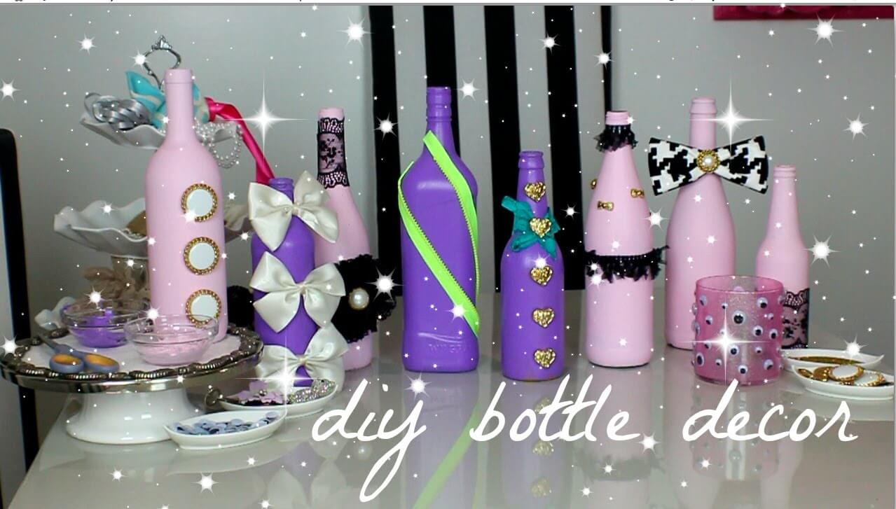 15+ Ideas para Convertir tus Botellas Vino en Cosas Útiles y Decorativas