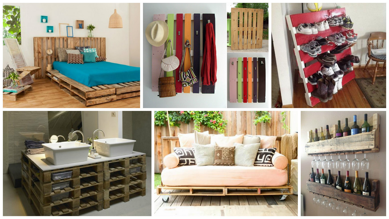 15 ideas creativas para reciclar palets de madera for Ideas de decoracion reciclando