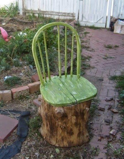 15+ Ideas Creativas para Reciclar y Reutilizar Viejas Sillas
