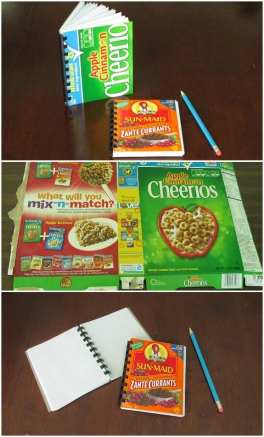 25+ Estupendas Ideas para Reutilizar Cajas de Cereales