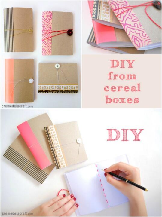 25 estupendas ideas para reutilizar cajas de cereales - Diy projects with a cardboard box boundless creativity ...