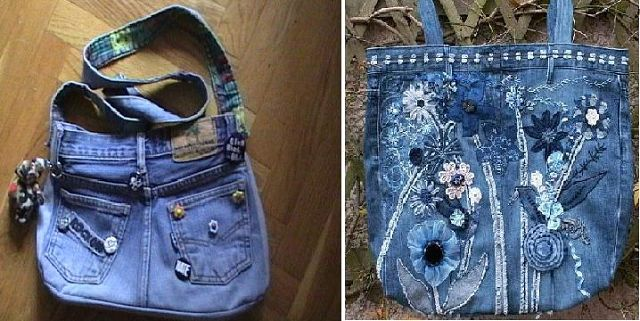 30+ ideas de Reutilizar tus Jeans