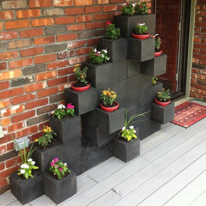 15+ Macetas Jardineras y Plantas Preciosas en el Jardín