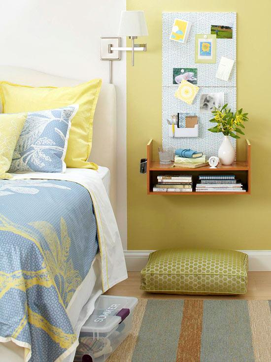 20+ Ideas Fenomenales para sacar el máximo de Dormitorios Pequeños