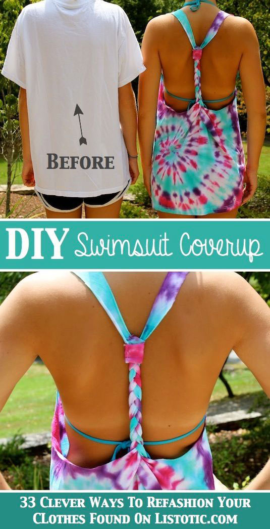 Reciclar y Transformar Camisetas para el Verano