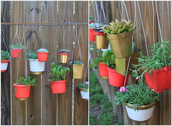 Ideas sorprendentes para decorar la valla de tu jard n for Decoracion vallas jardin